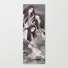 The Sirens' Lure Canvas Print