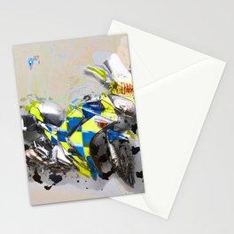 Police Motorbike -Yamaha FJR 1300 Stationery Cards