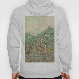 The Olive Orchard by Vincent van Gogh - Classic Art Hoody