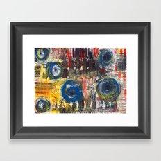 Abstract Nr. 2 Framed Art Print
