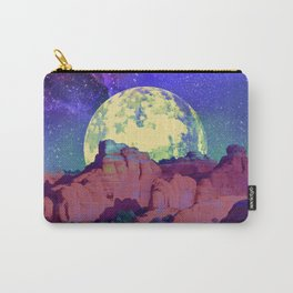 night desert landscape Carry-All Pouch