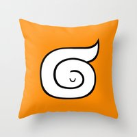 sleep Throw Pillows featuring sleep by simon oxley idokungfoo.com