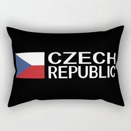Czech Republic: Czech Flag & Czech Republic Rectangular Pillow