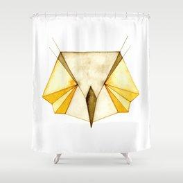 Geo Series - Owl Shower Curtain