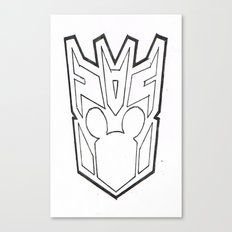 Mickbot Canvas Print