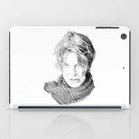 david fleck iPad Cases featuring David by Rabassa