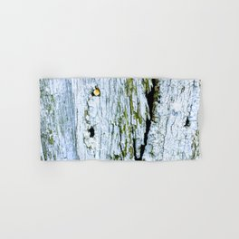 Weathered Barn Wall Wood Texture Hand & Bath Towel