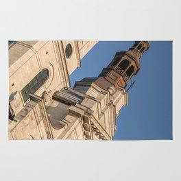 church old Qubec Rug