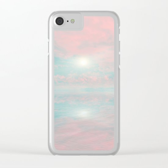 Out to Sea III Clear iPhone Case