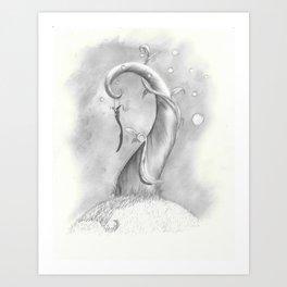 Magic Beanstalk Art Print