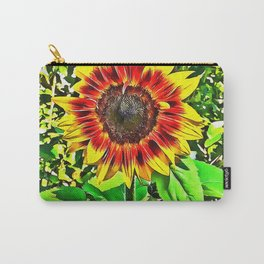 To Be A Sunflower Carry-All Pouch
