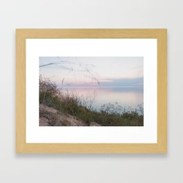 One Summer Night at the Beach Framed Art Print