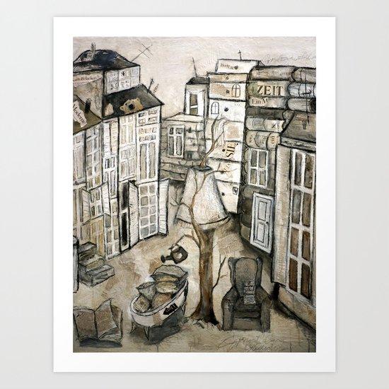 stack-story Art Print