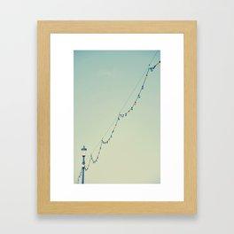 Beach Baubles Framed Art Print