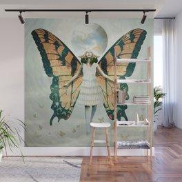 Butterfly Queen Wall Mural