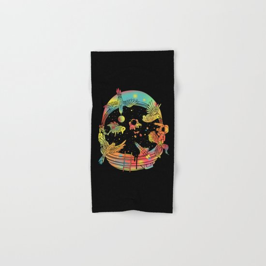 Depth of Discovery (A Case of Constant Curiosity) Hand & Bath Towel