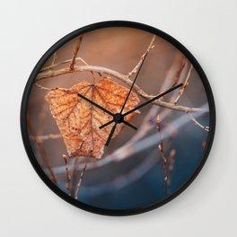 Warm. Wall Clock
