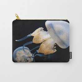 Jellyfish Swimming - Underwater Photography Carry-All Pouch