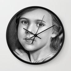Child Portrait 01 Wall Clock