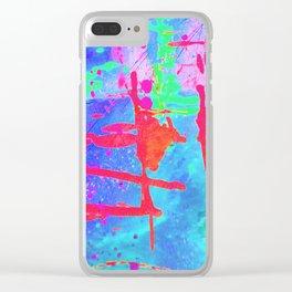 ∂å∂ Clear iPhone Case