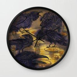 The Seven Ravens Wall Clock