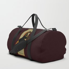Tall and Dark and Handsome Duffle Bag