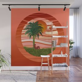Imaginary landscapes Wall Mural