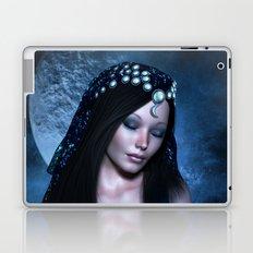 Praying Moon Goddess Laptop & iPad Skin