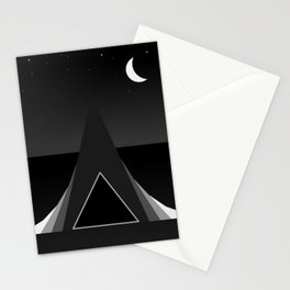 Abstraction 032 - Minimal Geometric Triangle Stationery Cards