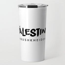 Abushkheidem x Palestine Travel Mug