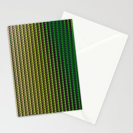 Abstract techno glitch Stationery Cards