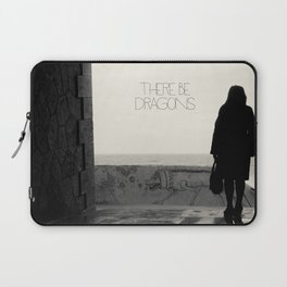 There Be Dragons Laptop Sleeve