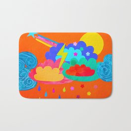 Bright Storm Bath Mat