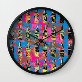 Soda Rhapsody Wall Clock