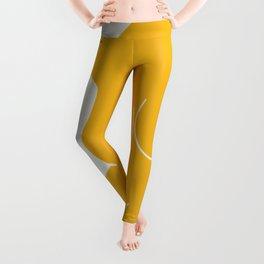 Nude in yellow 2 Leggings