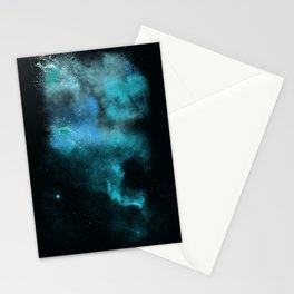a cold nebula Stationery Cards