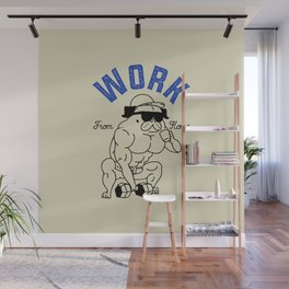 Work from Home Wall Mural