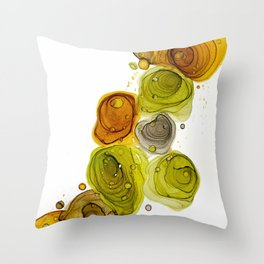 S H R O O M Throw Pillow