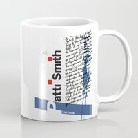 calligraphy Mugs featuring Calligraphy 2 by omerfarukciftci