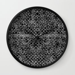 Cyrkiit Black and White Wall Clock