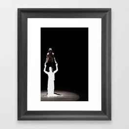 Vacant Partner Framed Art Print
