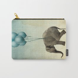 Levitating Elephant Carry-All Pouch