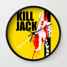 KILL JACK - ASSASSIN Wall Clock