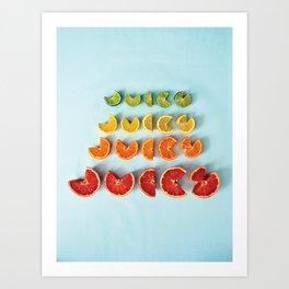 Juicy II Art Print