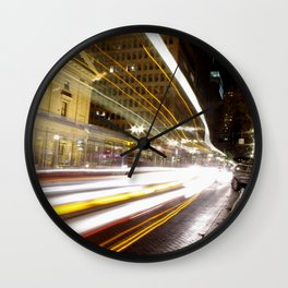 Portland Lights Wall Clock