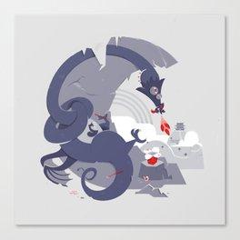 Takeaway Dragon Canvas Print