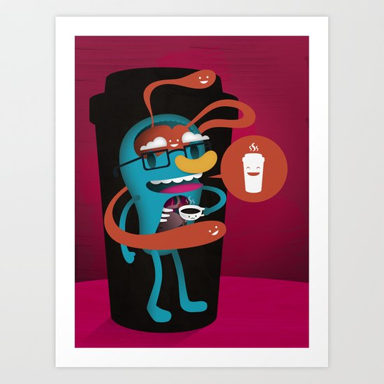 Magic In A Cup Art Print