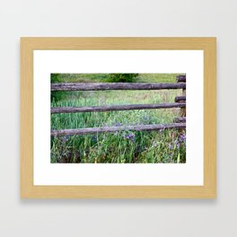 take a break Framed Art Print