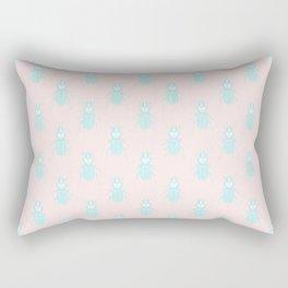 Sweetest Creepy Crawly Beetles Rectangular Pillow