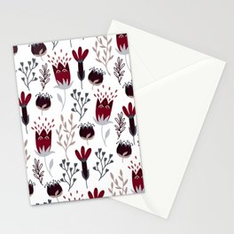 Winter Garden Stationery Cards